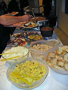 Ciotole in un buffet