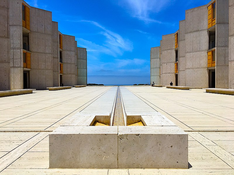 The Salk Institute for Biological Studies, by Codera23.