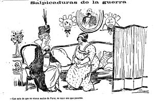 "Spain during World War I - Sprinklings of the War: ""Without fashions coming from Paris, I don't know what to put on."""