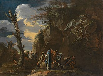 Oroetus - Image: Salvator Rosa Polycrates' Crucifixion 1942.292 Art Institute of Chicago