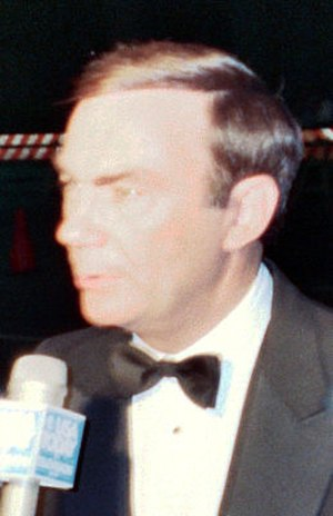 Sam Donaldson - Donaldson at the 1988 Emmy Awards