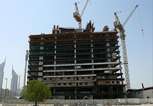 Sama Tower - Image: Sama Tower Under Construction on 14 September 2007