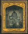 Samuel Bassett French, Alexander Galt Taliaferro, William B. Taliaferro, O. Jennings Wise, and unidentified soldier, circa 1859.jpg