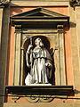 San Benedetto, facade, statue 3 (Bologna).JPG