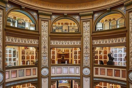 Interior (upper floors) of the San Francisco Columbarium