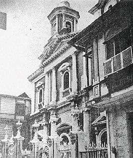 San Ignacio Church (Manila) Church ruins in Intramuros, Manila