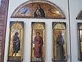San Lorenzo tra i ss. Giovanni Battista, Antonio da Padova e nella lunetta Madonna col Bambino e angeli di Jacopo, Gentile e Giovanni Bellini (1).JPG