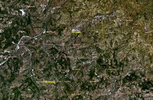 Geography of San Marino - Satellite image