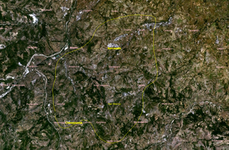 Geography of San Marino - Satellite image