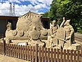 Sand sculpture Quebec aquarium.jpg