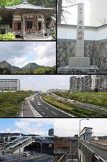Sanda, Hyōgo City in Kansai, Japan