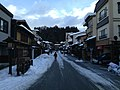Sando of Sakurayama Hachiman Shrine 20150123.JPG