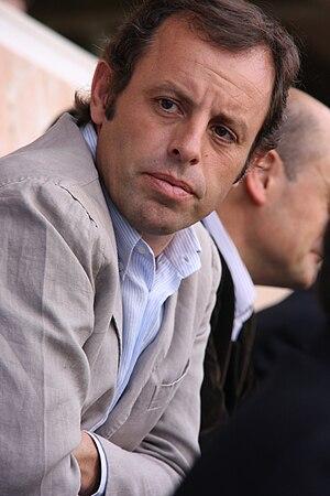 Sandro Rosell - Image: Sandro Rosell 2010