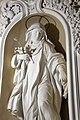 Sant'Agnese che calpesta il leone, stucco, 1700-08 ca. 03.jpg