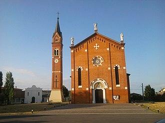 Anguillara Veneta - Image: Sant'Andrea apostolo (Anguillara Veneta)