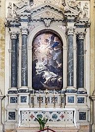 Santa Giustina (Padua) - Right nave - chapel of Saint Scholastica
