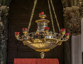 Santa Maria della Salute - Santa Maria della Salute, hanging lantern
