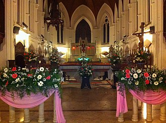 St. Thomas Cathedral Basilica, Chennai - Image: Santhome 1