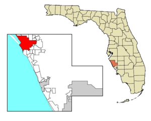 Sarasota map city boundary highlighted.png