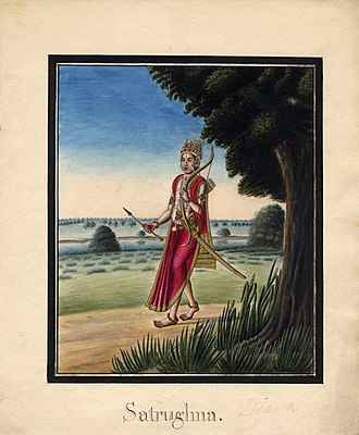 Shatrughna - Shatrughna, the youngest brother of Rama