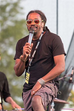 Saukrates - Saukrates performing at the 2015 Burlington's Sound of Music Festival