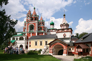 Savvino-Storozhevsky Monastery - A group of three 17th-century churches