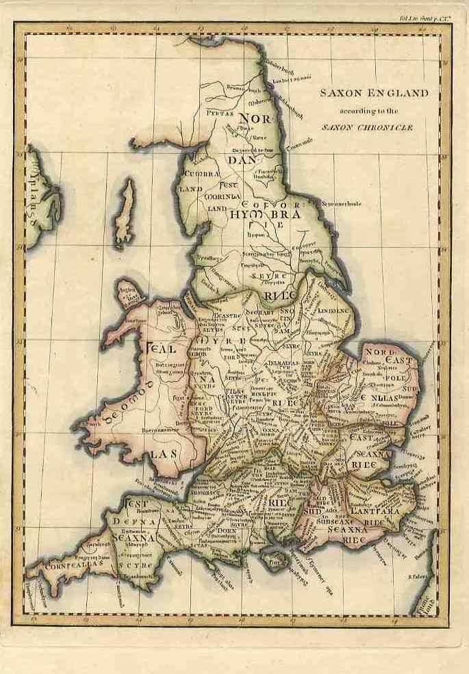 Saxon England according to the Saxon Chronicle