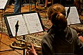 Saxophonist - District 54 Jazz Band Recording Session 11 - Solid Sound Recording Studio, Hoffman Estates, IL, 2011.jpg