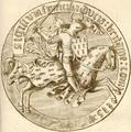 Sceau de François II - Duc de Bretagne.png