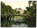 Scene in the Botanical Gardens with Director of Customs Building, Hamburg, Germany-LCCN2002713685.tif