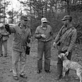 Scenes from bear hunt conducted by Bill Gibbs of Marion, NC near Black Mountain, NC Dec 1966 photo by Arrington. From Conservation and Development Department, Travel and Tourism photo files, State (28722057043).jpg