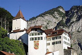 Wimmis Castle castle in Wimmis in the canton of Bern, Switzerland