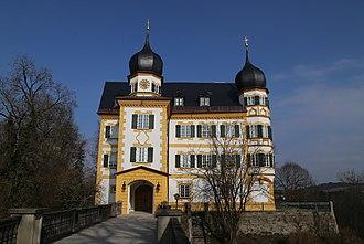 Prince Max, Duke in Bavaria - Image: Schloss Wildenwart Frasdorf 3