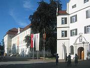 Schussenried Kloster Neues Konventsgebäude und Kirche