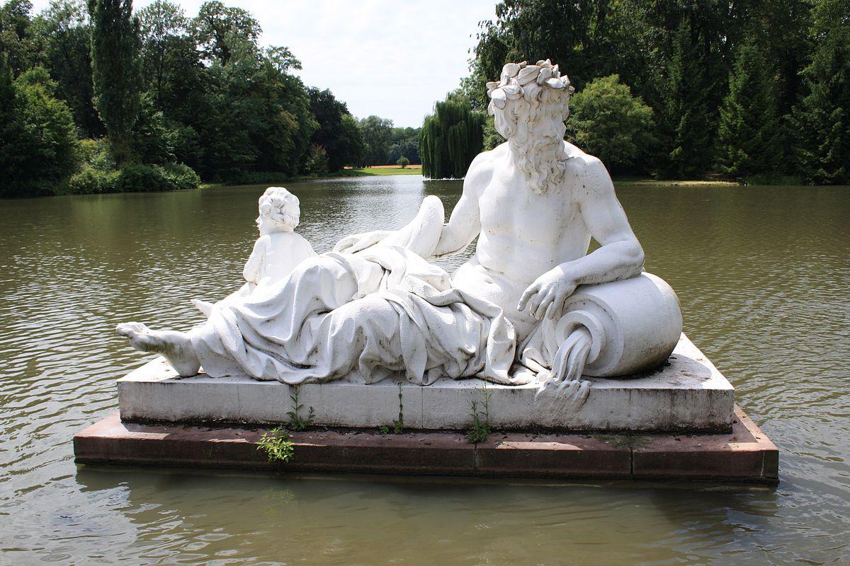 Brunnen La Sculptura: Brunnen Wasserspiel