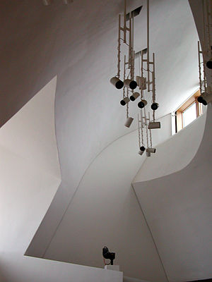Enric Miralles - The Scottish Parliament Building committee room ceiling.