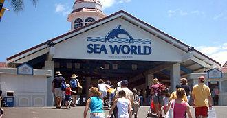 Sea World (Australia) - The entrance to Sea World