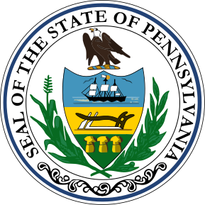 SVG of Pennsylvania state seal