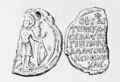 Seal of the sebastos George Palaiologos Komnenos Doukas (Schlumberger).png