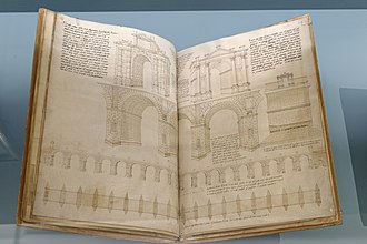 Tutte l'opere d'architettura et prospetiva - Two pages from the eighth book