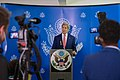 Secretary Kerry Delivers a Statement to the U.S. and Somali Media in Mogadishu (16758301764).jpg