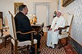 Secretary Pompeo Meets with Pope Francis (48838329368).jpg