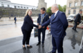 Secretary of State Karen Bradley MP meets with civic leaders in Londonderry (43085208114).png