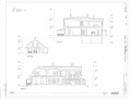Section - J A Ranch Headquarters, Main House, Paloduro, Armstrong County, TX HABS tx-3530-A (sheet 4 of 5).tif