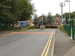Prestwich Hospital Hospital in Greater Manchester, England