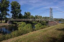 Seilhängebrücke Wetter am Wasserwerk