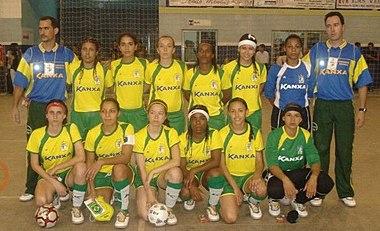 6ec31515ba328 Seleção Brasileira de Futebol de Salão Feminino (CNFS) – Wikipédia ...