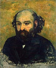 Self-Portrait by Paul Cézanne, c. 1880-1881, Hermitage.JPG