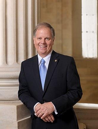 Doug Jones (politician) - Image: Senator Doug Jones official photo