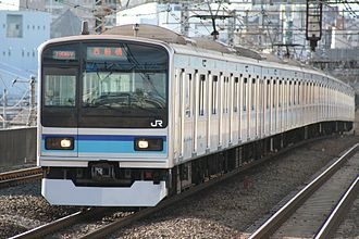 E231 series - 10-car E231-800 series in December 2009